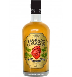 Pisco Sagrado Corazon 40º 750cc